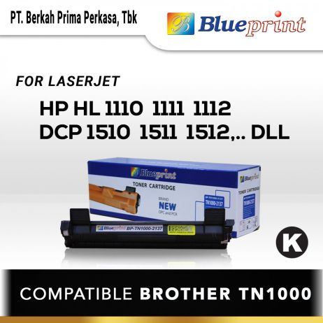 Toner BLUEPRINT Toner Cartridge BPTN10002137 11 blueprint toner cartridge bp tn1000 2137 new
