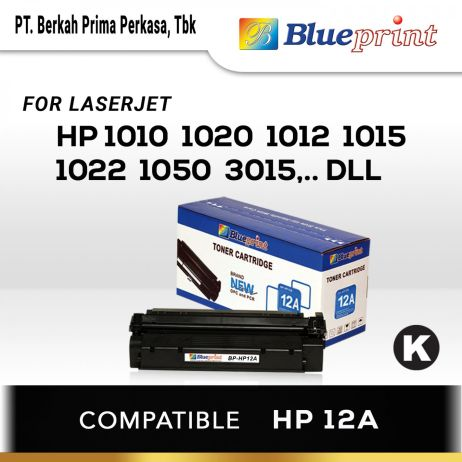 Toner BLUEPRINT Toner Cartridge BPHP12A 1 blueprint toner cartridge bp hp12a new