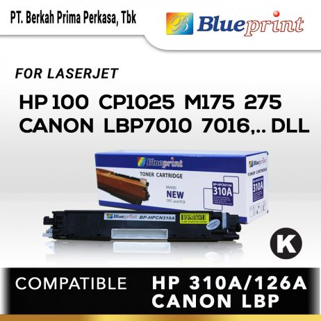 Toner BLUEPRINT Toner Cartridge BPHPCN310A 7 blueprint toner cartridge bp hpcn310a new