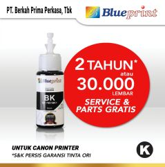 Tinta Canon BLUEPRINT Refill For Printer Canon 70ml Black  Hitam