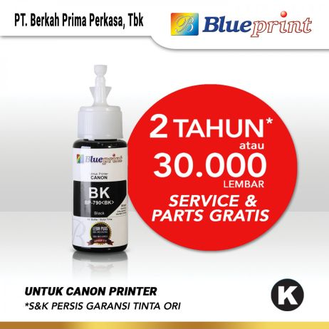 Tinta Tinta Canon BLUEPRINT Refill For Printer Canon 70ml Black  Hitam canon black 790 70ml membership