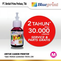 Tinta Canon BLUEPRINT Refill For Printer Canon 100ml  Merah CP
