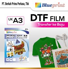 Kertas Transfer Film DTF BLUEPRINT  Digital Transfer Film PET  A3