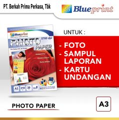 Kertas Foto Glossy  Kertas Glossy  Glossy Photo Paper BLUEPRINT A3 190 gsm