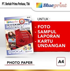 Kertas Foto  Kertas Glossy  Glossy Photo Paper BLUEPRINT A4 190 gsm