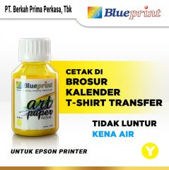 Tinta Art Paper Epson BLUEPRINT Refill For Printer Epson 100ml Kuning