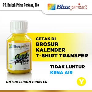 Tinta Tinta Art Paper Epson BLUEPRINT Refill For Printer Epson 100ml Kuning<br> 1 tinta_art_paper_epson_blueprint_100ml_yellow