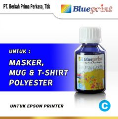 Tinta Sublim Epson BLUEPRINT Refill For Printer Epson 100ml Biru