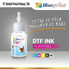 Tinta DTF Putih  DTF Ink White BLUEPRINT 100 ML