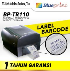 Printer Barcode Thermal  Label BLUEPRINT BPTR110 USBSerialLAN
