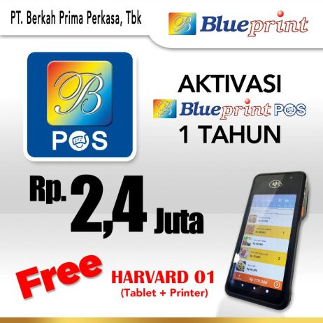 Printer Thermal Promo Paket Usaha  Aplikasi Kasir BLUEPRINT POS 1 Tahun Free Advan Harvard whatsapp image 2021 01 06 at 11 08 31